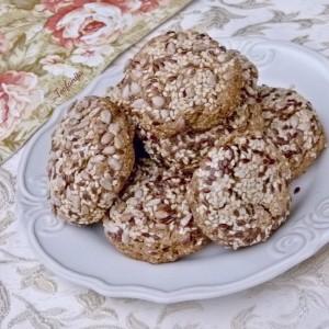 'Ржани лепчиња со семиња (хроно, посно)