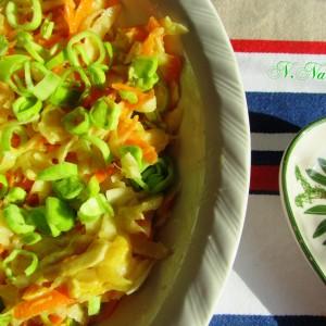 Салата од родква и моркови