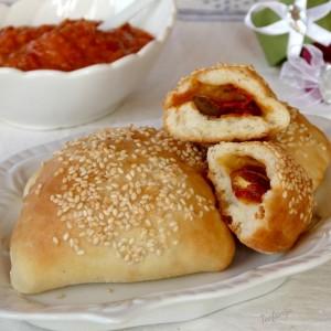 Печени панцероти со компирови снегулки (посно)
