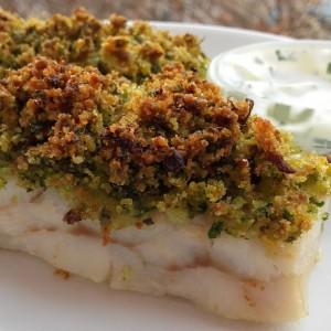 Бела риба со крцкава коричка (Божиќен календар 11)