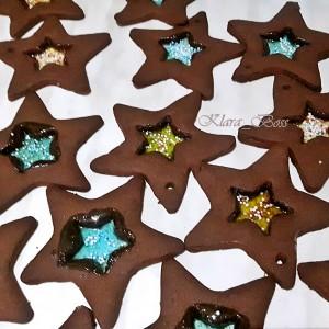 Новогодишни стаклени ѕвезди