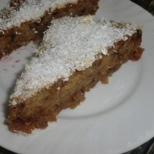 Посна сочна торта (без масло)