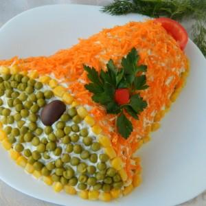 Ѕвонче - салата од макарони и чаден лосос