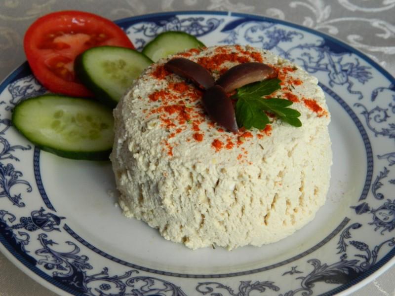 Сирење од млеко од соја (посно)