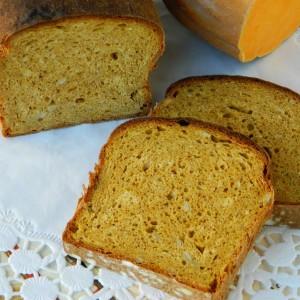 Интегрален леб со тиква (посно)