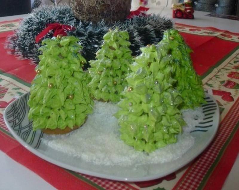 Новогодишни елки (без печење)