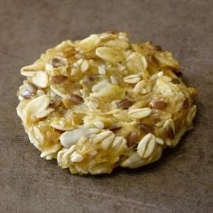 Овесни колачиња со јаболка (посно)