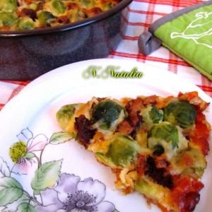 Зеленчукова пита со прокељ (без брашно)