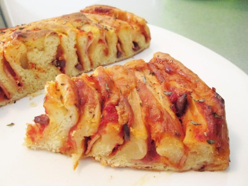 Спирален пица бриош