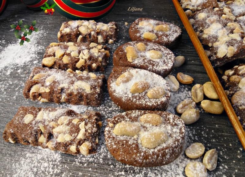 Суви колачиња со кикиритки