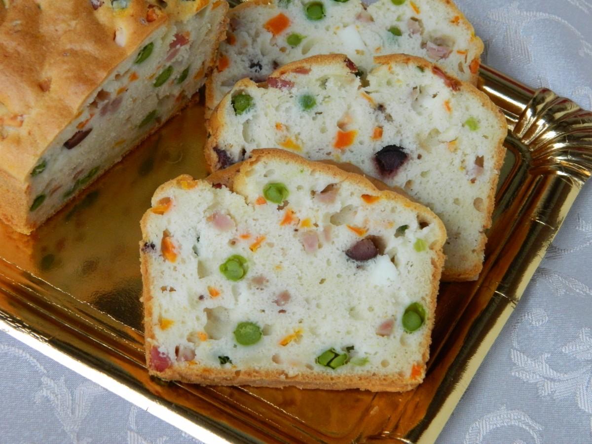Солен колач од белки