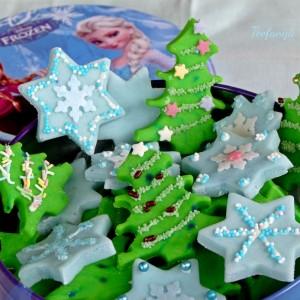 Божиќни ментол колачиња