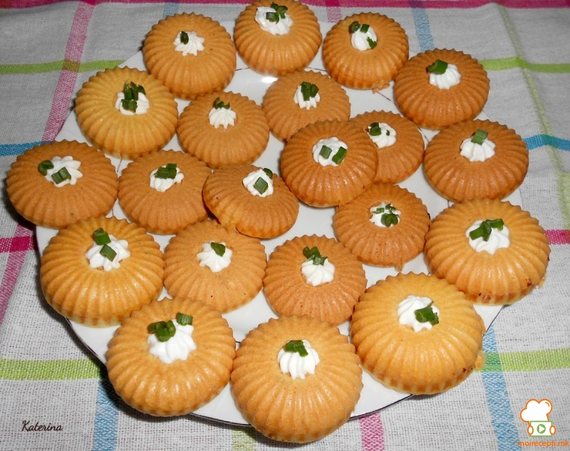 Мафини со снегулки за компир пире
