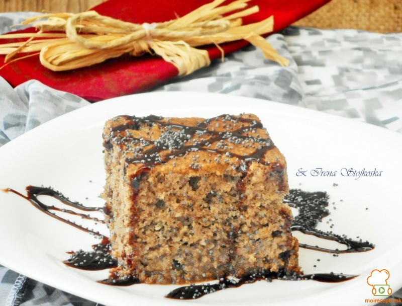 Сочен колач со афион