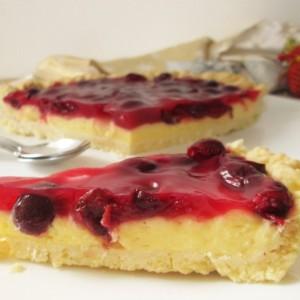 Ванила тарт со вишни
