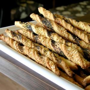 Спирални соленки со афион и сусам