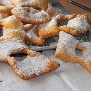 Кјакери - пржени карневалски колачиња