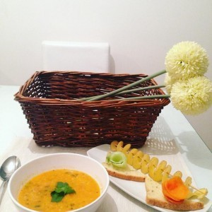 Крем супа од домати и просо