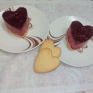 Срценца од малина (За Валентајн)