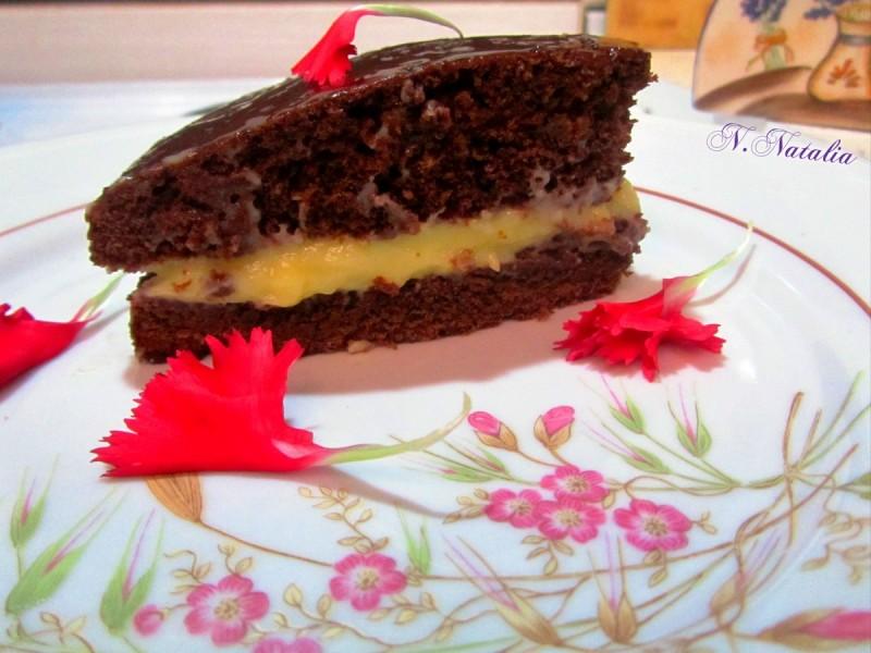 Американски чоколаден колач (без масло)