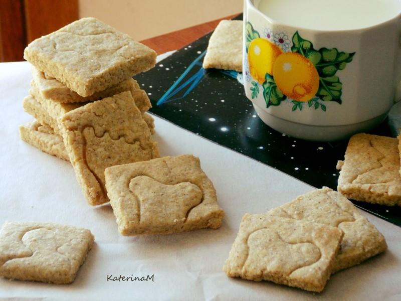 Рустични бисквити со хељдино и спелтино брашно