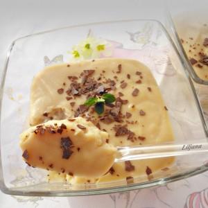 Карамел крем - пудинг со брашно или нишесте