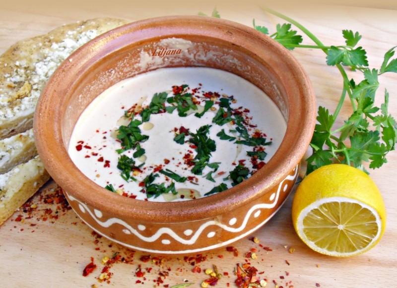 Тахини сос - Таан сос (посно)