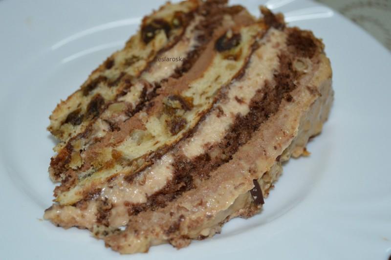 Роденденска торта со ореви и урми
