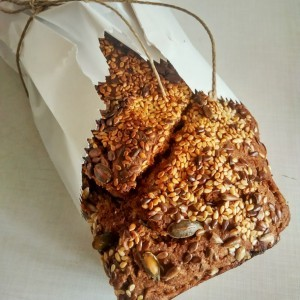 Хроно леб со семиња (посно)