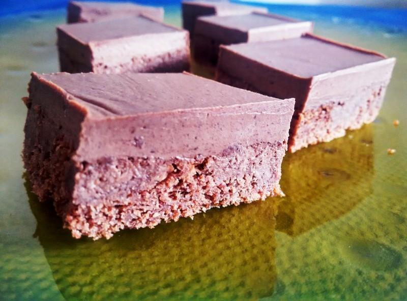 Чоколадни ганаж коцки