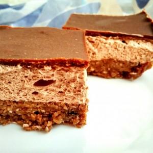 Чоколадни мус коцки (хроно ужина)