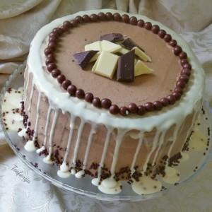 Карамел торта