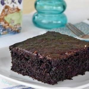 Црн чоколаден колач (посно)