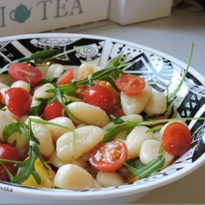 Њоки салата со рукола(посно )