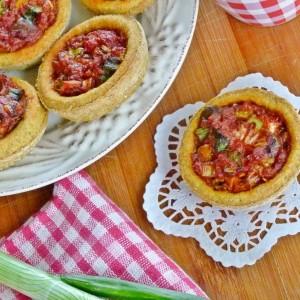 Мини хроно пици (посно)