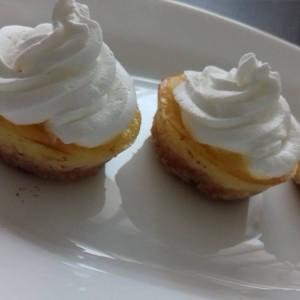 Мини лимон чизкејк