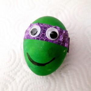 Велигденски јајца Нинџа желки