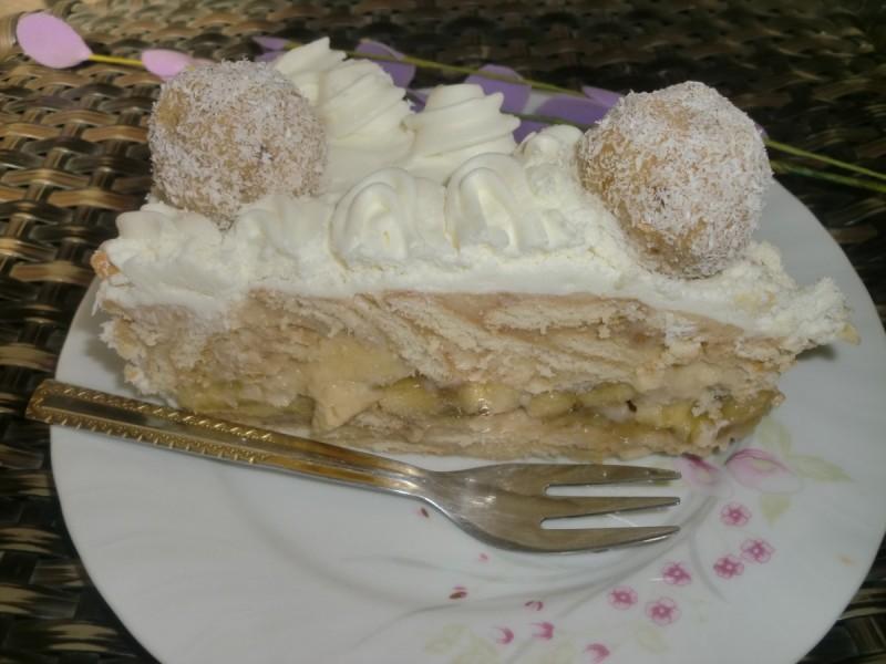 Дипломат торта (без печење)