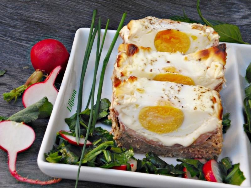 Полнето мелено месо - Отворен ролат