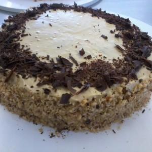 Торта со крема - Шантили
