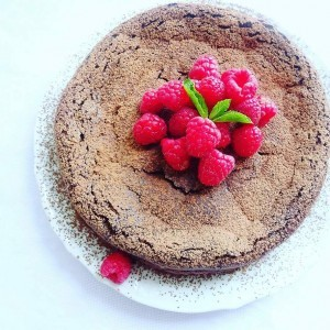 Чоколадна торта без брашно