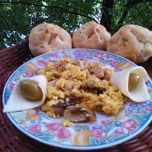 Kајгана со печурки