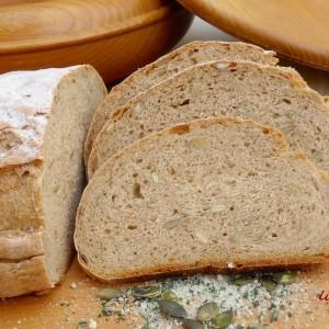 Ржан леб со семки од тиква