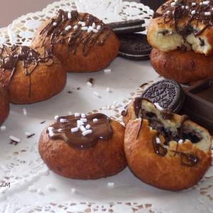 Полнети крофни со колачиња