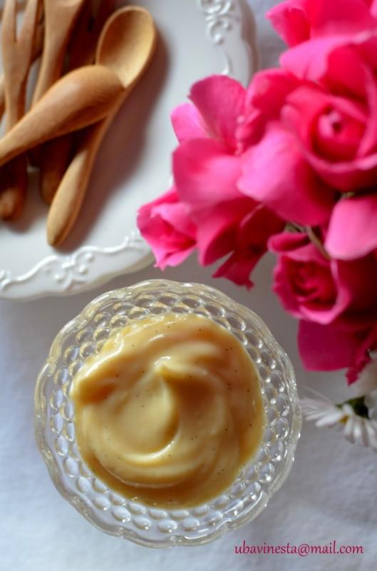 Слаткарски крем (La crème pâtissière )