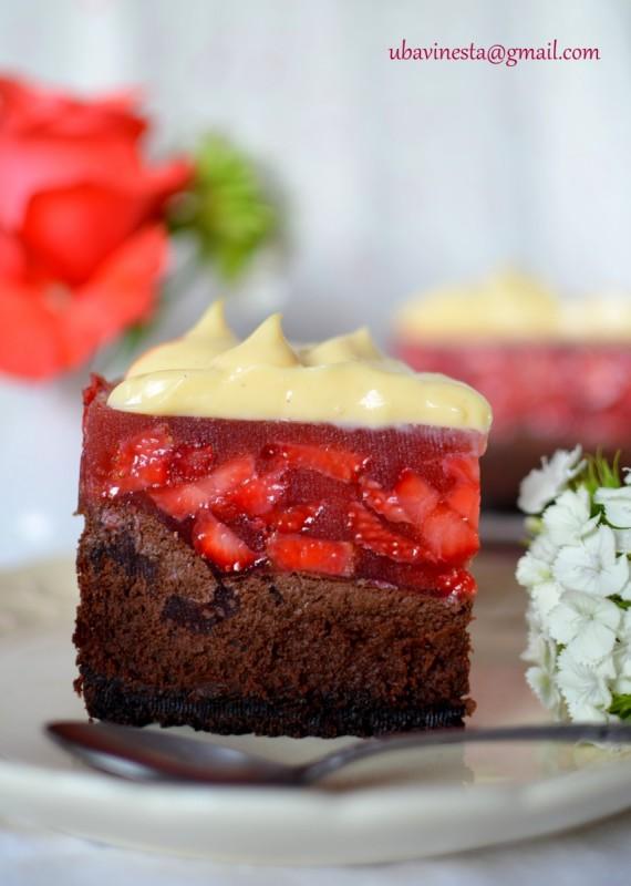 Чоколаден чизке�к со �агоди