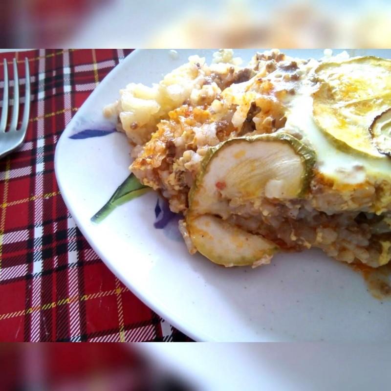 Мусака на мој начин - со компири и тиквички