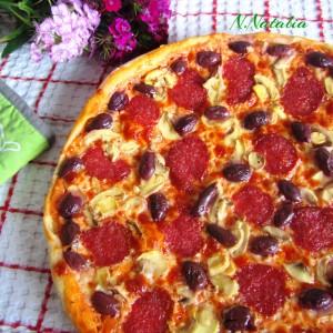 Тесто за домашна пица (фил по желба)