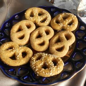 Переци од спелтино брашно и куркума (хроно)