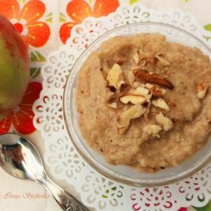 Овошен крем со ореви (веган)